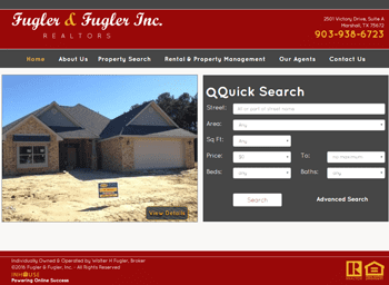 web design for Fugler and Fugler REALTORS®