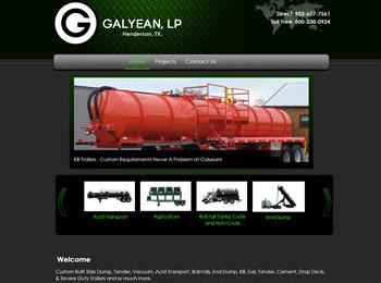 web design for Galyean, L.P.