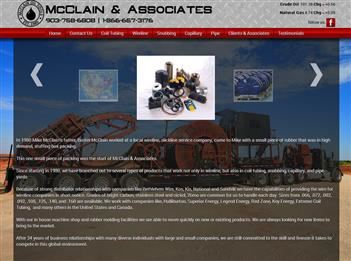 web design for McClain & Associates