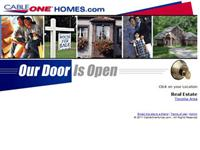 web design for Cable One Homes