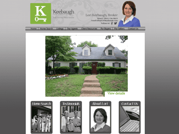 web design for Keebaugh and Company