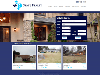 web design for State Realty