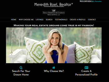 web design for Meredith Roel REALTOR®