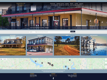 web design for Jefferson Realty